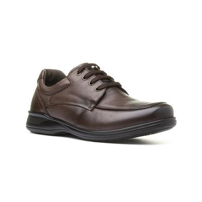 Mens Brown Casual Lace Up Shoe
