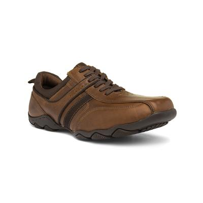 Polem Rick Mens Brown Lace Up Shoe