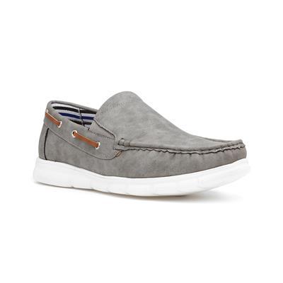 Declan Grey Slip On Loafer