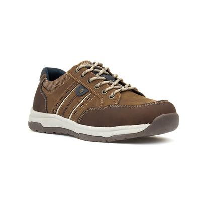 Mens Lace Up Shoe in Brown