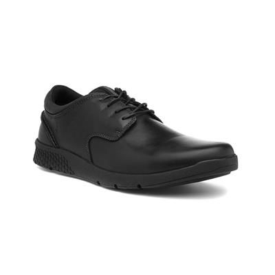 Asher Mens Black Leather Lace Up Shoe