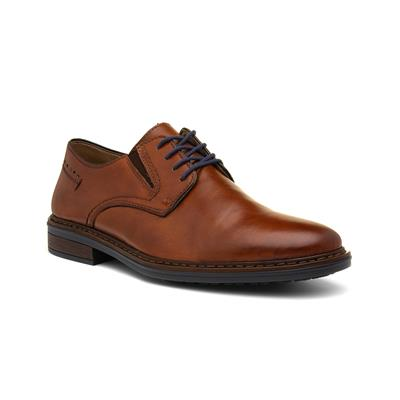 Mens Tan Lace Up Leather Formal Shoe
