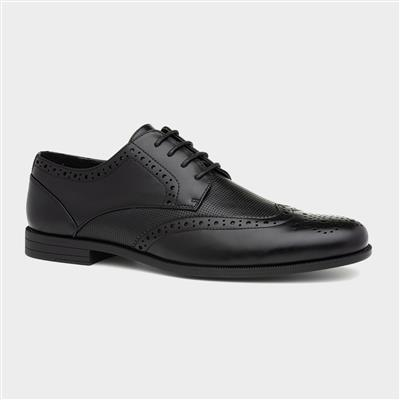 Mens Formal Lace Up Shoe in Black