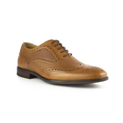 Mens Brown Lace Up Shoe