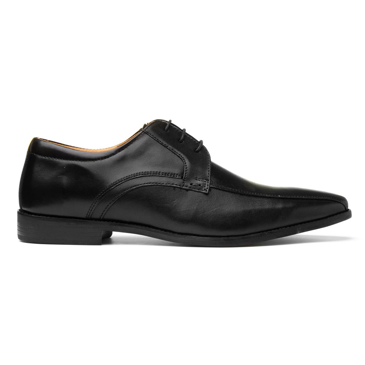 202e9614e521 Red Tape Mens Lace Up Formal Shoe in Black-53131 | Shoe Zone