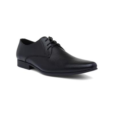 Mens Lace Up Formal Shoe in Black
