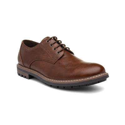 Mens Lace Up Formal Shoe in Brown