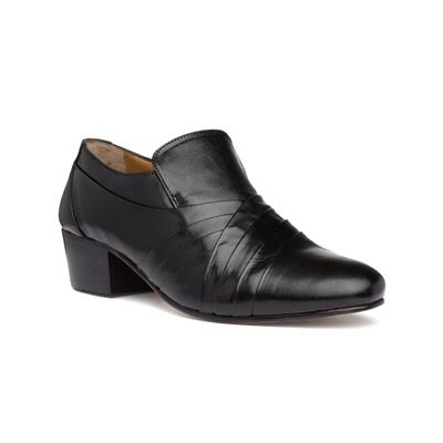 Carnaby Mens Black Leather Shoe