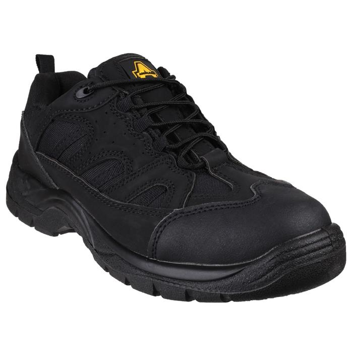 Amblers Safety Unisex Black Vegan Friendly Shoe