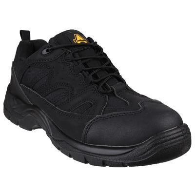 Unisex Black Vegan Friendly Shoe