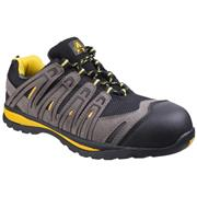 Amblers Safety Unisex Metal Free Trainer in Black (Click For Details)