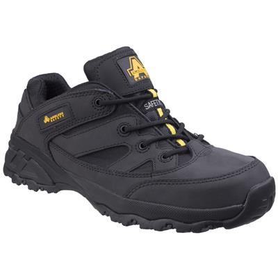 Unisex Metal Free Black Safety Shoe