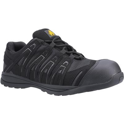 FS40C Safety Trainers in Black