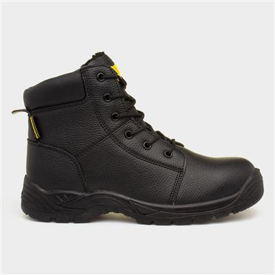 Mens Black Safety Boots