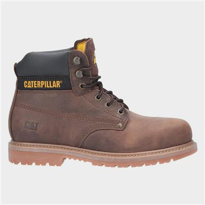 Mens Powerplant GYW Safety Boot in Brown