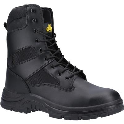 Mens Black Waterproof Safety Boots