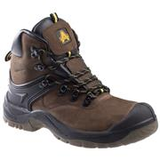 Amblers Safety Unisex FS197 Brown Leather Boot (Click For Details)