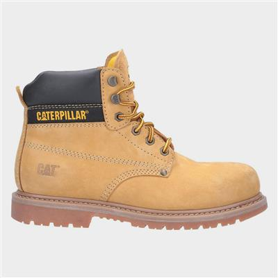 Mens Powerplant GYW Safety Boot in Yellow