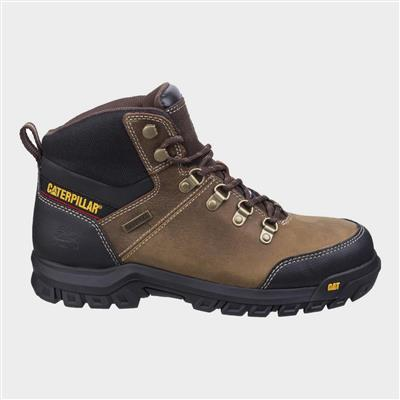 Mens Safety Boot in Brown