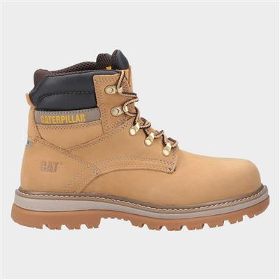 Mens Lace Up Boot in Tan