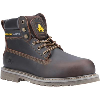 FS164 Adults Safety Boot in Brown