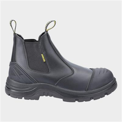 AS306C Adults Safety Boot in Black