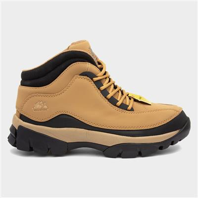 GR386 Adults Tan Leather Safety Boot