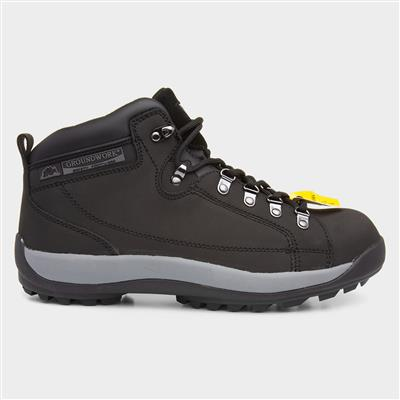 GR387 Adults Safety Boot in Black