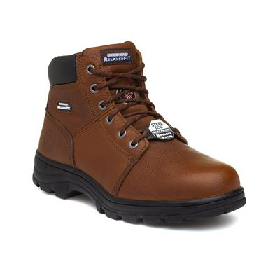 Work Mens Workshire Brown Safety Boot