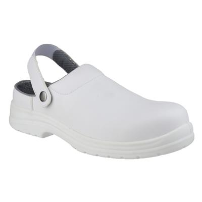 FS512 Adults Safety Shoe in White