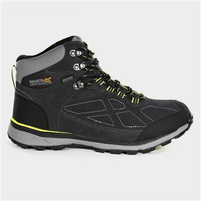 Samaris Mens Grey Waterproof Hiking Boot