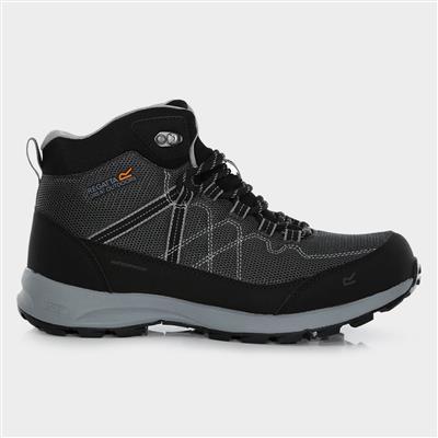 Samaris Lite Mens Hiking Boots in Black