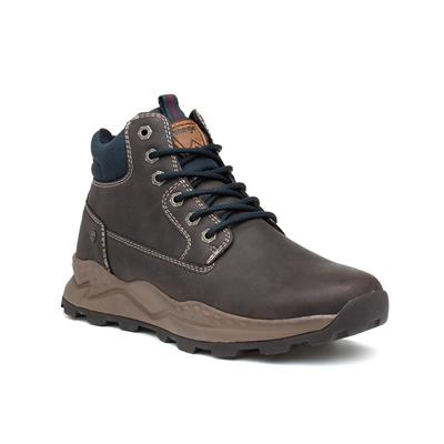 Crossy Yuma Mens Brown Lace Up Boot