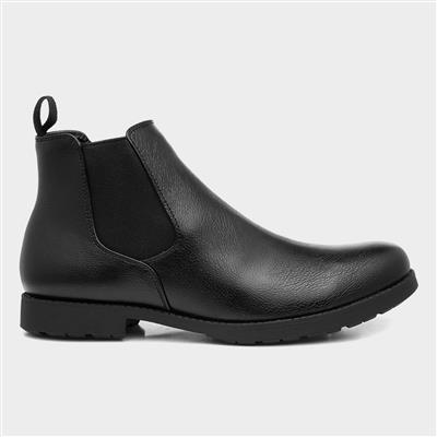Mens Chelsea Boot in Black