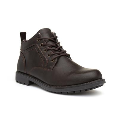 Mens Lace Up Boot in Brown