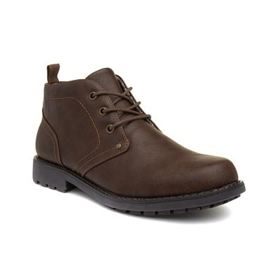 Mens Brown Lace Up Boot