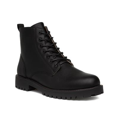 Mens Lace Up Black Boots