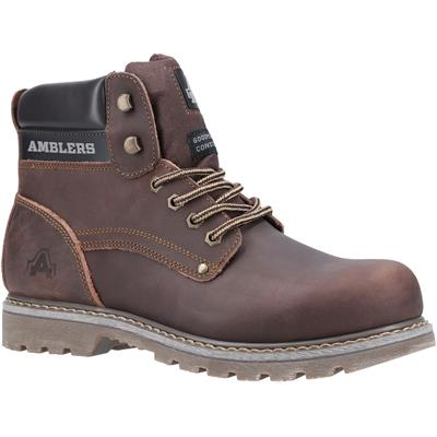 Dorking Mens Brown Lace Up Boot