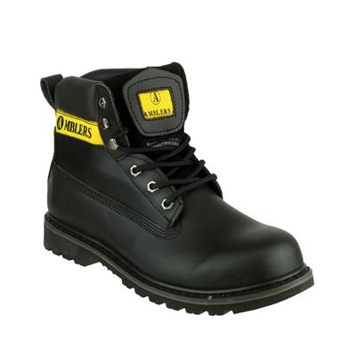 Mens Banbury Casual Boot in Black