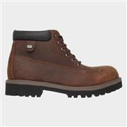 Skechers Mens Sergeants Verdict Boot in Brown (Click For Details)