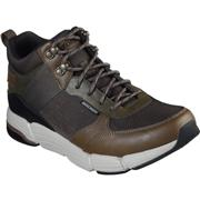 Skechers Mens Metco Mid Top Lace Up Shoe in Green (Click For Details)