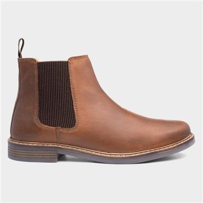 Bamford Mens Brown Leather Chelsea Boot