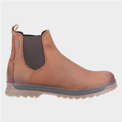 Mens Winchcombe Tan Leather Boot