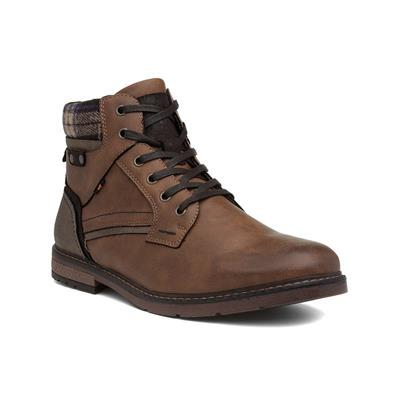 Cognac Mens Brown Lace Up Ankle Boot