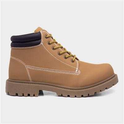 Mens Honey Lace Up Boot