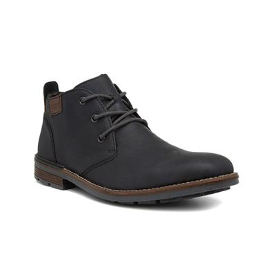 Mens Navy Lace Up Boot