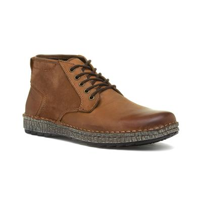 Gus Tan Lace Up Boot