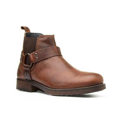 Albany Mens Brown Ankle Boot