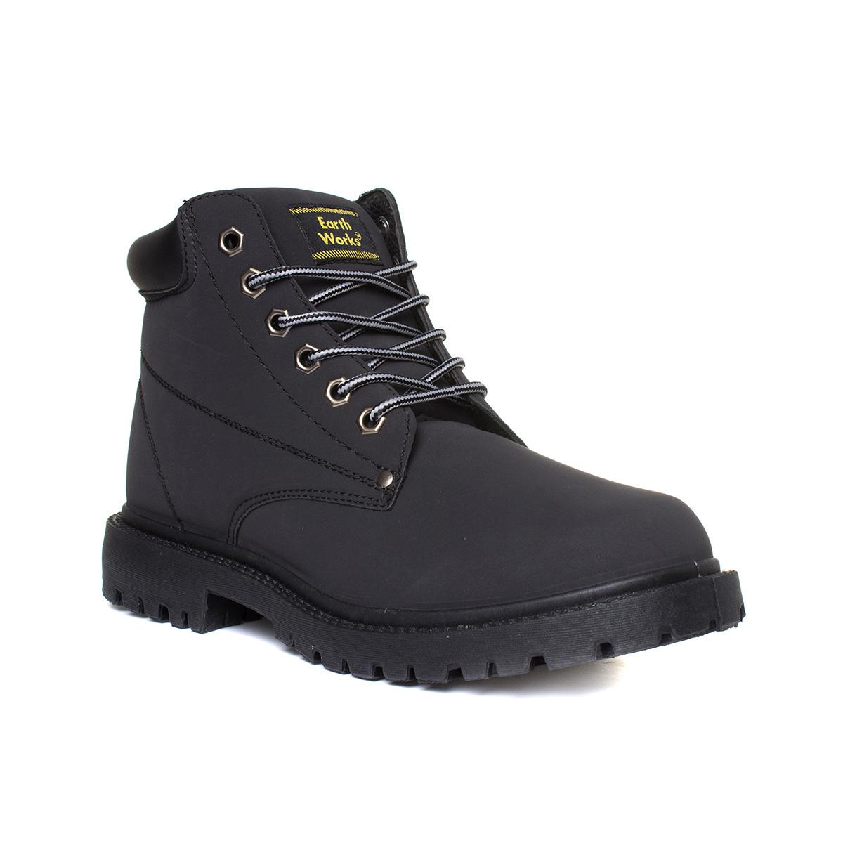 Ladies leather gloves asda - Earthworks Mens Lace Up Boot In Black Click For Details
