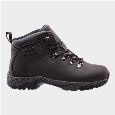 Mens Nebraska Hiker Boot in Brown